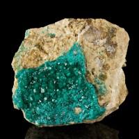 """2.6"""" SharpSparkly EmeraldGreen DIOPTASE Crystals Altyn-Tyube Kazakhstan for sale"""