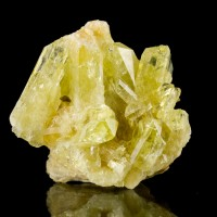 "1.5"" Lively Greenish Yellow Lustrous Gemmy BRAZILIANITE CRYSTALS Brazil for sale"