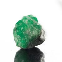 ".8"" 36.8ct Gemmy TSAVORITE GARNET Crystal Vivid Screamin'Green Tanzania for sale"