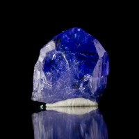 12.5mm 6ct Cornflower Blue+Violet TANZANITE Terminated Crystal Tanzania for sale