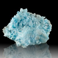 """6.4"""" Turquoise Blue ARAGONITE Fine Coral-Like Flos Ferri Crystals China for sale"""