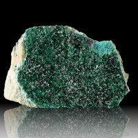 "4.7"" Rich Crayon Green ATACAMITE Crystals w/Sparkling Luster Chile for sale"
