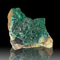 "4.5"" Rich Crayon Green ATACAMITE Sparkling Radiating Crystals Australia for sale"