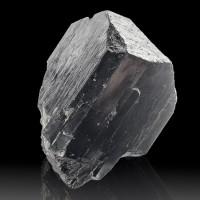 "3.8"" Jet Black Wet-Look SCHORL TOURMALINE Terminated Crystal Australia for sale"