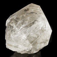 "2.7"" Rainbow Filled HERKIMER DIAMOND Quartz Crystal Ace of Diamonds NY for sale"