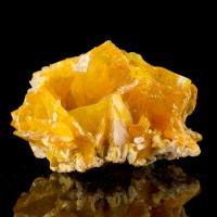 """1.9"""" Bright Orange Gemmy Tabular WULFENITE CRYSTALS Old Yuma M Arizona for sale"""