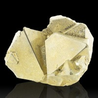 "2.7"" Brite Shiny Metallic Brassy Gold Pyritohedral PYRITE Crystals Peru for sale"