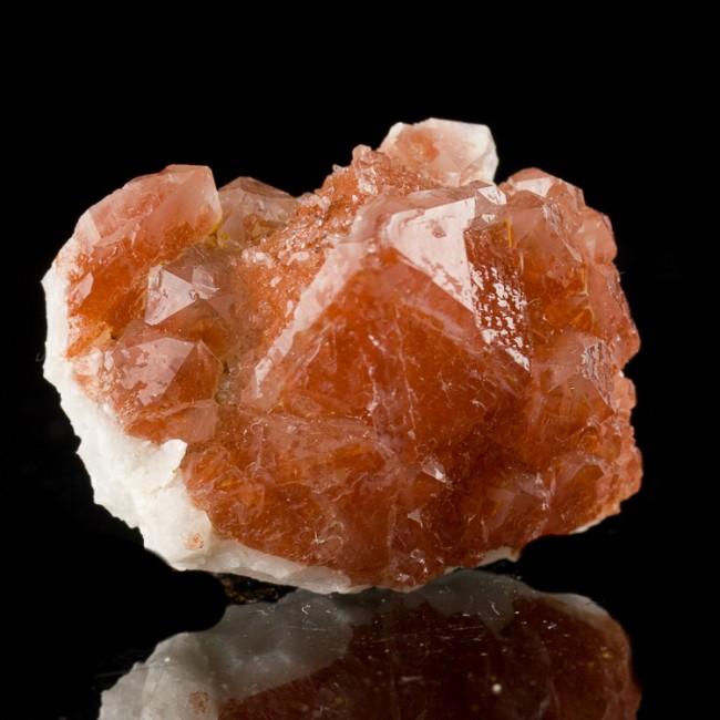 "1.7"" Dark Red Terminated RED QUARTZ Crystals Orange River South Africa for sale"