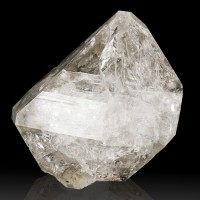 "3.6"" SharpShinyWaterClear Gem Quality HERKIMER DIAMOND CRYSTAL New York for sale"