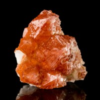 "1.8"" Sharp Terminated PHANTOM RED QUARTZ Crystals Orange R South Africa for sale"