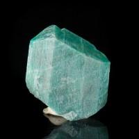 "1.5"" Super Saturated TurquoiseBlue AMAZONITE Crystal SmokyHawk Claim CO for sale"