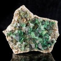 "4.5"" GlassSmooth XtraGemmy FLUORITE Blue Green Crystals Rogerly Mine UK for sale"