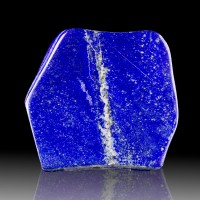 "5.8"" 4.5LB Superb Azure Blue Color Polished LAPIS LAZULI Afghanistan for sale"