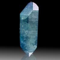"2.9"" Double Terminated Turquoise Crystal of AQUA AURA QUARTZ Arkansas for sale"