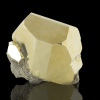 """1.6"""" Sharp Brilliant Shiny Well-Formed PYRITE CRYSTAL Merelani Tanzania for sale"""