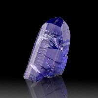 17mm 5.5ct Gem TANZANITE DichroicBlueViolet Terminated Crystal Tanzania for sale