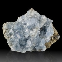 "5.2"" CELESTITE Sharp Gemmy Clear Terminated Crystal Sylvania Ohio for sale"