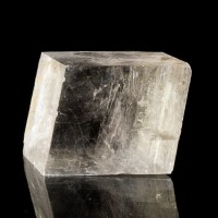 "4.9"" Extra Large Double Refraction ICELAND SPAR Calcite Crystal Mexico for sale"