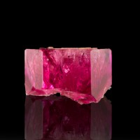 5.8mm .81ct Sharp Glassy Terminated Gem RED BERYL Crystal Bixbyite Utah for sale