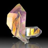 "3.2"" Brilliant Rainbow Colors OPAL AURA QUARTZ SharpTerminated Crystals for sale"