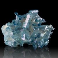 "3.4"" Terminated GemmyTurquoise AQUA AURA QUARTZ Shiny Crystals Arkansas for sale"
