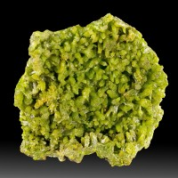 "2.1"" AsparagusGreen PYROMORPHITE Terminated BarrelShaped Crystals China for sale"