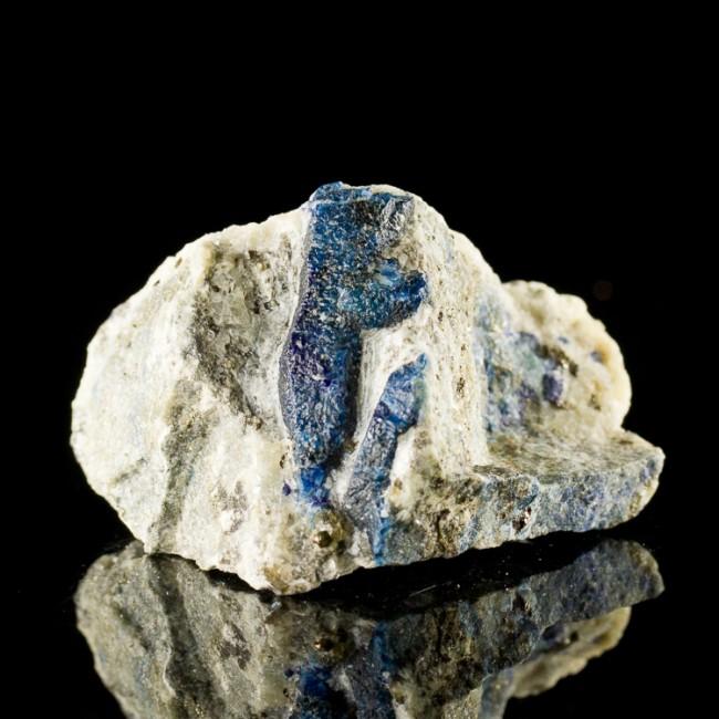 "2.6"" Intense Navy Blue AFGHANITE Crystals in Marble Matrix Afghanistan for sale"