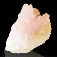 "3"" Gemmy Clear ROSE QUARTZ Terminated Crystals Lavra de Ilha Brazil for sale"