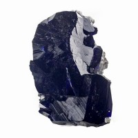 "1.2"" NavyBlue Brilliant Flashy Luster AZURITE Crystals Milpillas Mexico for sale"