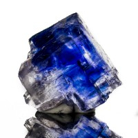 """1.6"""" Rich RoyalBlue HALITE Salt Actual Crystal Not Cleavage Carlsbad NM for sale"""