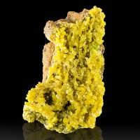 "2.4"" Bright Yellow-Green PYROMORPHITE Crystals Broken Hill Australia for sale"