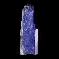 "1.5"" 27.9ct Dichroic TANZANITE Crystal Cornflower Blue-Violet Tanzania for sale"