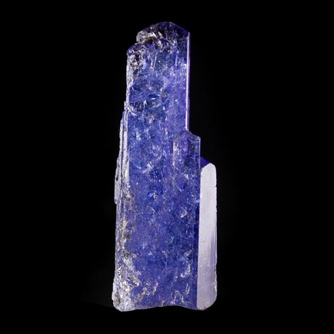 "1.5"" 27.9ct Dichroic TANZANITE Crystal Cornflower Blue-Violet Tanzania for sale"