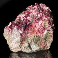 "2.8"" Vivid MagentaPurple ERYTHRITE Cobalt Bloom Crystals to .5"" Morocco for sale"