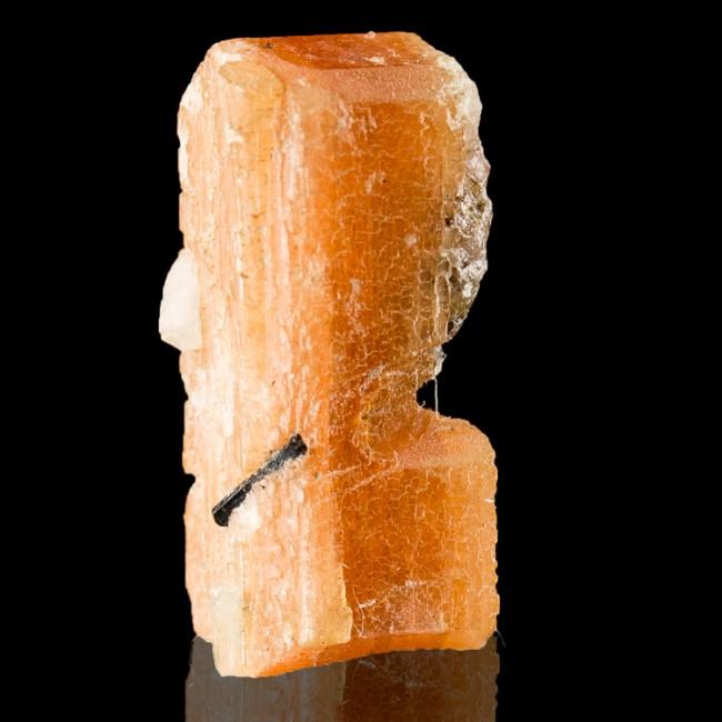 ".8"" Double Terminated Pink-Orange SERANDITE Pristine Crystal MSH Quebec for sale"