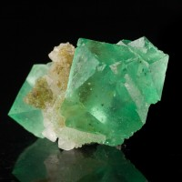 """1.7"""" Super Saturated Green Gemmy FLUORITE Octahedral Crystals S.Africa for sale"""