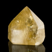 "2.9"" Bright Shiny Yellow CITRINE QUARTZ Crystal Polished Gemmy Brazil for sale"