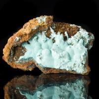 "2.1"" Plush VELVET ROSASITE Robins Egg Blue Crystal Mounds Mapimi Mexico for sale"