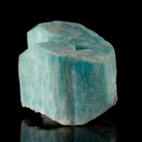 "1.7"" Rich Aqua Blue AMAZONITE Sharp Colorful Crystal from Colorado for sale"