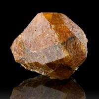 "1.3"" 172ct Fruity Orange SPESSARTINE GARNET Gemmy Crystal Tanzania for sale"