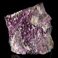 "3.1"" KAMMERERITE Sharp Sparkling Purple Magenta Crystals to 3mm Turkey for sale"