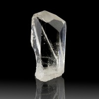 ".9"" 15.2ct Transparent Gem CLEAR PHENAKITE Terminated 6-Sided Crystal for sale"