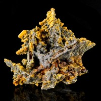 "2.3"" PSEUDOMORPH of WILLEMITE After DESCLOIZITE with WULFENITE+MIMETITE for sale"