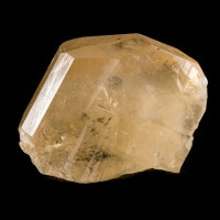 "1.5"" 175ct Pale Sherry Gem TOPAZ Crystal Textbook Termination Pakistan for sale"