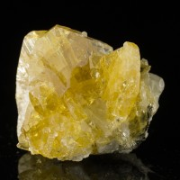"2.1"" Sharp Bright Yellow BARITE Gemmy Tabular Crystals Meikle Mine NV for sale"