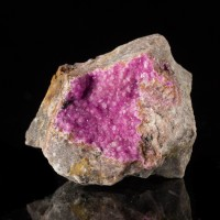 "2.6"" OutrageousRadiant NeonPink COBALTOAN CALCITE Crystals Morocco 2013 for sale"
