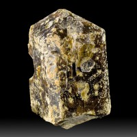 "2.4"" Dark Chocolate VESUVIANITE Lustrous Dbl Terminated Crystal Morocco for sale"