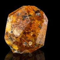 "1.1"" V.Sharp V.Lustrous SPESSARTINE GARNET Orange Red Crystal Tanzania for sale"