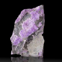 """3.8"""" 159g Vibrant Lavender Purple SUGILITE Crystal Fibers South Africa for sale"""