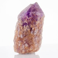 "4"" AMETRINE Crystal Lavender Amethyst with Pale Yellow Citrine Bolivia for sale"
